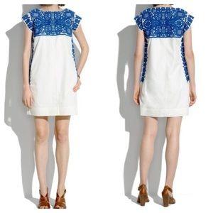 Madewell embroidered casita dress, medium